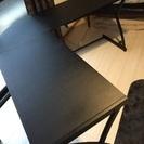【中古】L字のPCテーブル