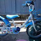 (受付終了)16インチ  自転車   女の子  水色