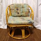 【現在取引中】【無料】籐製(?)の椅子 直接引取以外は詳細をご参照...