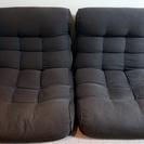 ソファー 座椅子 ピグレット ビッグ セカンド /ブラウン 2個