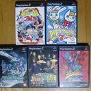 PS2ソフト全5本 全て説明書付き、個別販売有り