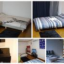 【値下げしました】家具・家電セット(2DK用)【民泊(Airbnb...