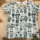美品 PARTYPARTY 総柄 Tシャツ 80