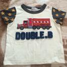 美品 ダブルB トラックTシャツ