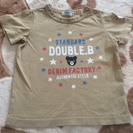 美品 ダブルB シンプルかっこいいTシャツ