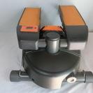 フットマシンです。足踏み式健康器具です。カロリー計算や歩行回数等も...