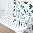 【渋谷区】鉄製のお洒落な椅子【手渡し】