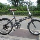 ♪ジモティー特価♪ ジープの折り畳み中古自転車 シマノ外装6段変速...