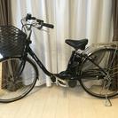 【ほぼ未使用】パナ電動自転車 ビビDX