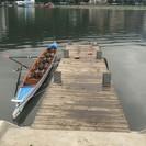 諏訪湖でレガッタ