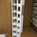 【 本棚 】 回転式/ 本だけでなくCDや小物用の棚としても便利で...