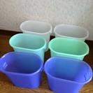 【交渉中】小さめゴミ箱 6個セット 中古 無料 ※送料のみご負担く...