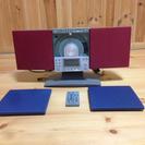 スタンド&壁掛け可能、CD.ラジオシステムオーディオ