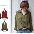 ウェブのモデル  レディース 洋服の商品ページ作成。