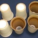 ビールコップ 陶器