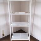 スチールラック 白 IKEA