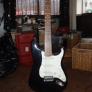 BUSKER'S  ギター ケーススタンド付き 1弦不足