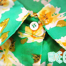 【美品】WEGO シャツ 花柄 シフォン