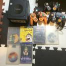 ゲームキューブ本体、カセット6種類、コントローラー3個