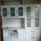 大型 食器棚 ホワイト