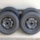 純正ホイール13インチ(スチール製)&タイヤセット品