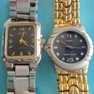 2本!ゼバ&ピエールモードです。レディース腕時計です。電池交換済 ...