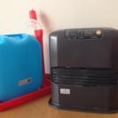 6畳用ファンヒーターと灯油缶&ポンプセット