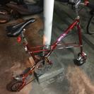 超小型ホイール折りたたみ自転車