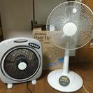 (取引中) 扇風機・サーキュレーターの2台セットです。