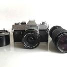 キャノン FTB QL フィルムカメラです。
