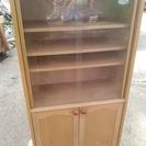食器棚 木製 両開き 差し上げます。