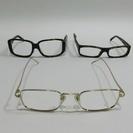グッチ プラダ 眼鏡フレーム 3点