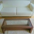 ソファー&テーブルのセット(未使用)