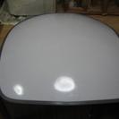 東芝40+30W四角い大型シェードのシーリング照明器具 中古