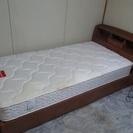 シングルベッド マットレス(フランスベッド)引き取り希望