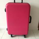 ピンク スーツケース 持ち込みサイズ 値段交渉可