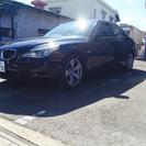 BMW 5シリーズ E60 525i ハイライン 黒革 2年付き