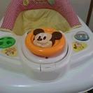 アイリスオーヤマ ミッキーマウス 歩行器 中古品