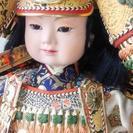 最終値下げ!昭和 レトロ! 日本人形 ④ 大将飾