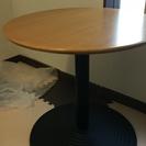 丸テーブル 木製天板