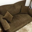 3種類の高さが選べる2人掛けのソファーベッド