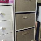 取引中 カラーボックス用収納×2個