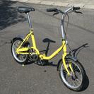 鹿児島発・引取のみ・16インチ折りたたみ自転車・中古・格安