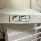 A4判 コピー用紙 500枚入 8個セット