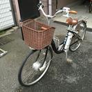 【完動品、取説付】パナソニック電動自転車