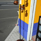 札幌 引き取り フロアランプ 木目調 スタンドライト/照明 売り切り