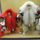 【連獅子】れんり作◆歌舞伎◆五月人形◆日本人形◆飾り
