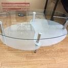 ガラス製 センターテーブル 売ります
