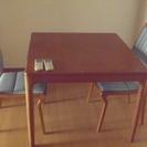 良い感じのテーブルセット