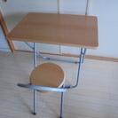 【取引終了】政治家の選挙事務所で使用していたデスクと椅子